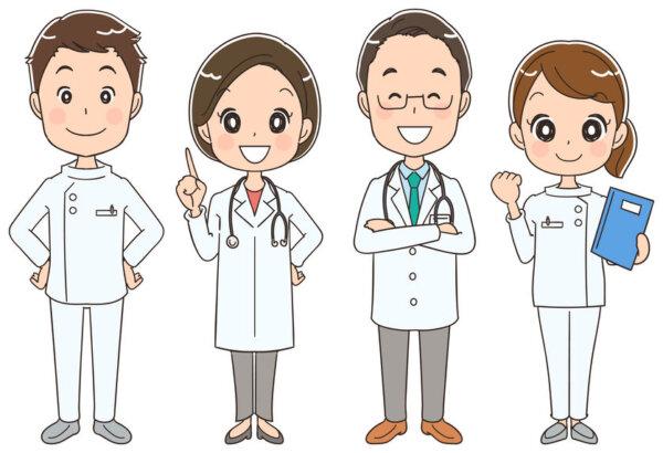 地域連携に携わる医師、薬剤師、看護師